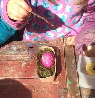 Les P'tits Points fêtent le Printemps et l'approche de Pâques ! | by www.point-nature.ch