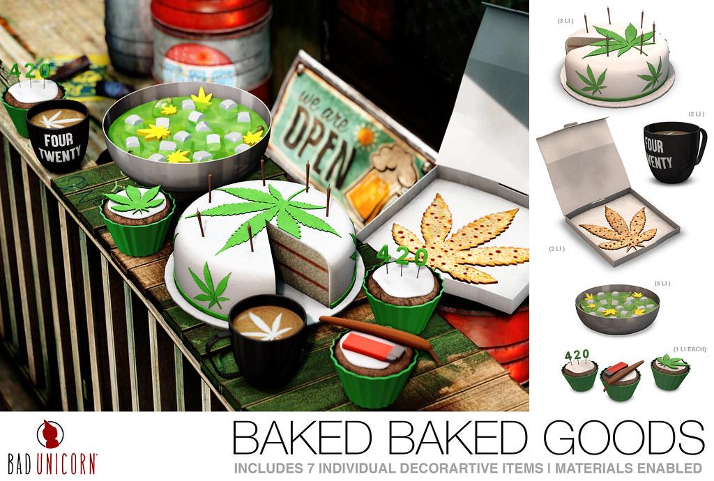 NEW! Baked Baked Goods @ KUSTOM9 - TeleportHub.com Live!