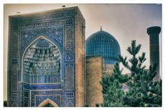 Samarqand UZ -  Gur-e-Amir Mausoleum 21