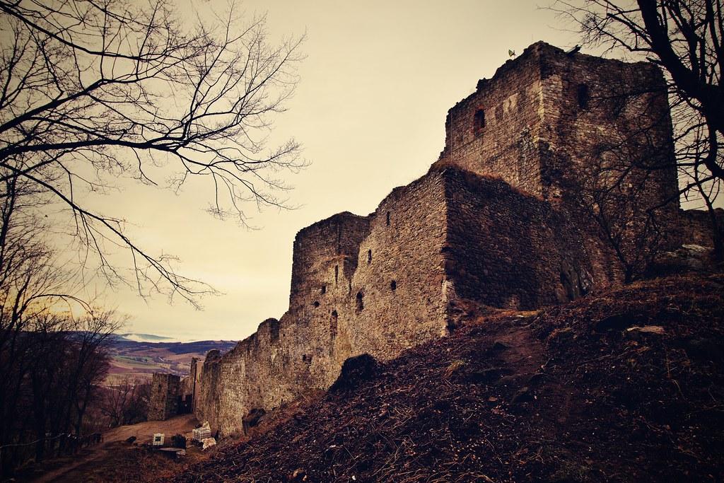 Kapušany castle ruins, Prešov region, Slovakia   Kapusany ca