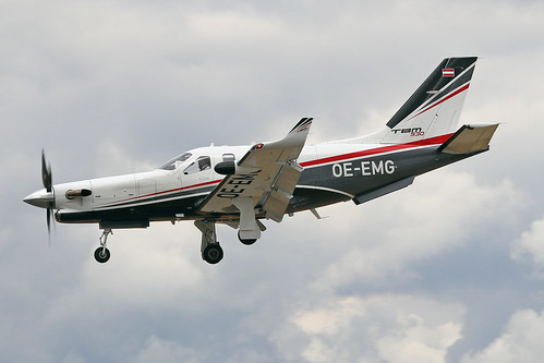 OE-EMG  -  Socata TBM 930  -  Private  -  FAB/EGLF 18-7-18 | by Martin Stovey
