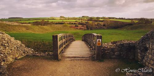 yourbestoftoday norfolk historic heritage england uk castle english ruins hills field bridge footbridge