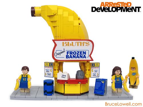 LEGO Banana Stand