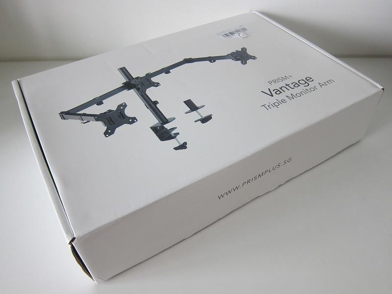 PRISM+ Vantage Triple Monitor VESA Monitor Arm - Box