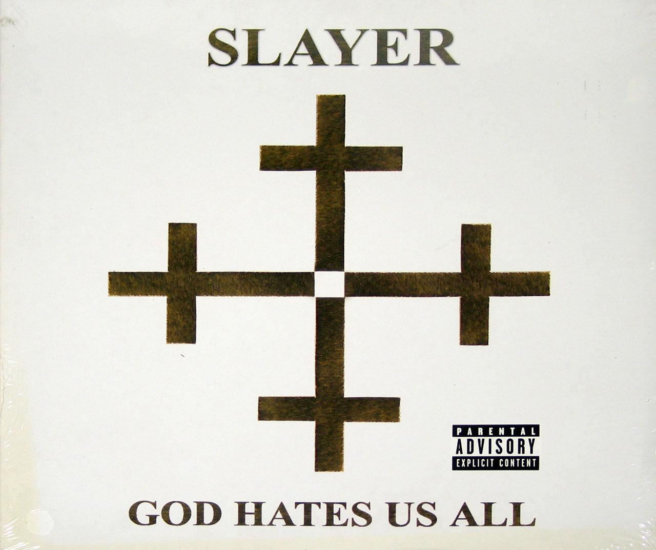 "SLAYER God Hates us AlL 12"" Vinyl lP"