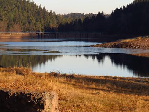 outdoor nature thuringia thüringen landscape landschaft germany germancute deutschland lütsche stausee dam