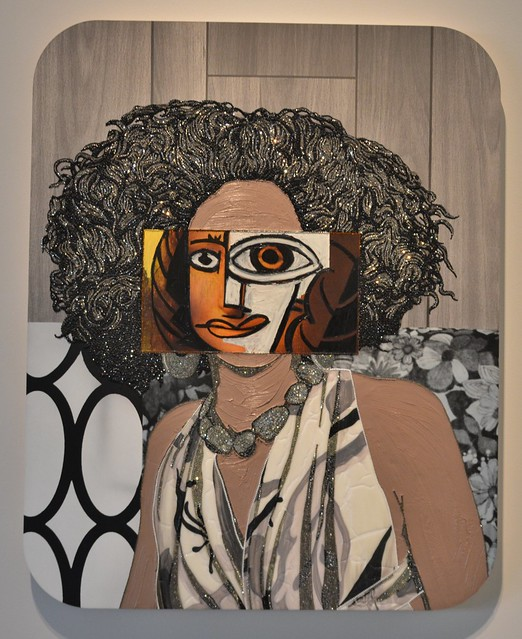 Portrait of Kalena 2017, Mickalene Thomas, Art Gallery of Ontario, Toronto, ON