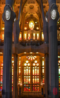 Columns of light. | by ulterior epicure