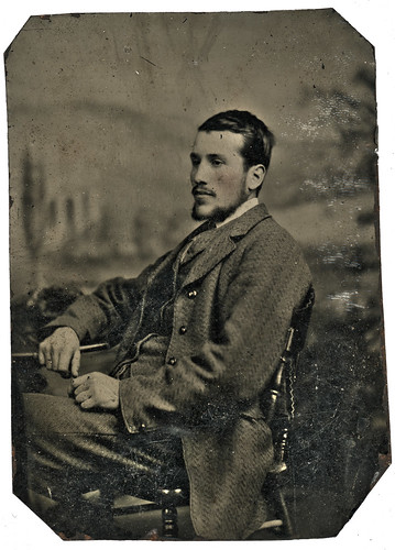 Unidentified Tintype Photograph | by UON Library,University of Newcastle, Australia