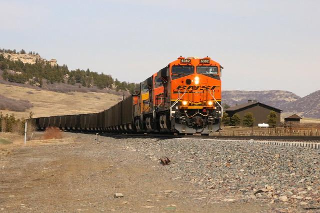 Train near Palmer Lake, Colorado