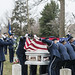 Military Funeral Honors with Funeral Escort for U.S. Air Force Maj. Gen. Marcelite Harris in Section 30