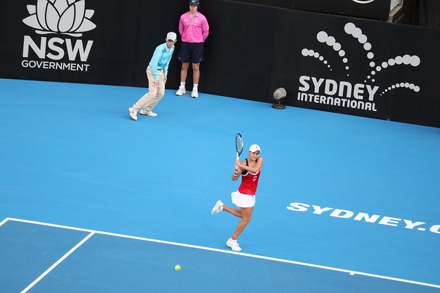 Ashleigh Barty Runner Up - Sydney International 2019 Womens Tennis Final WTA