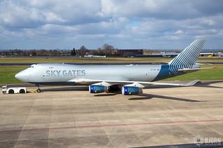 VP-BCI   Sky Gates Airlines Boeing 747-400F, Maastricht Aachen Airport - EHBK/MST | by neplev1