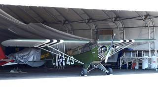 Piper J-3C-65D L-4J Grasshopper LN-SAI at Kjeller 2018   by J.Comstedt