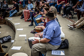 Asheville Drum Circle-24   by RandomConnections
