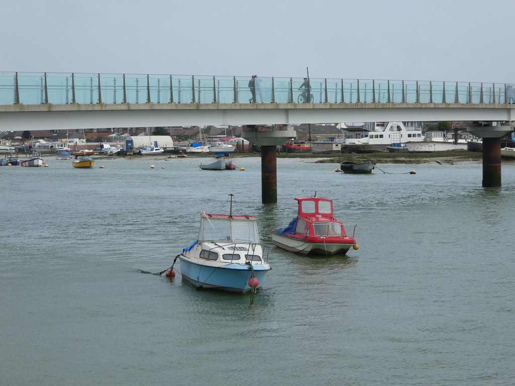 The bridge across the River Adur, Shoreham-by-Sea