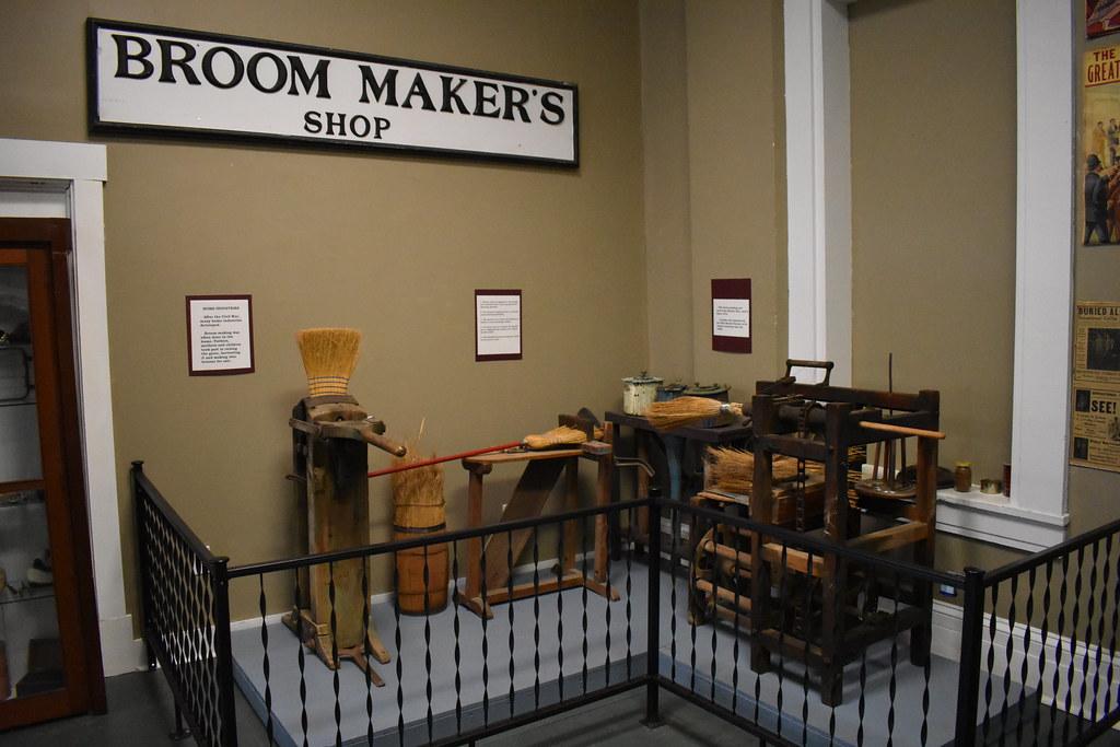 Broom Maker's Shop Display