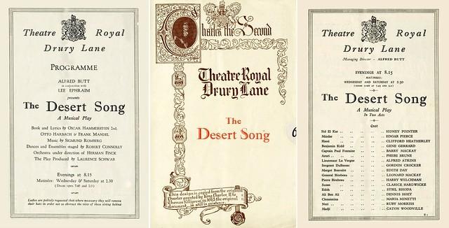 The Desert Song: