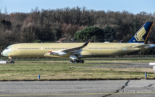 Airbus A350-941 Singapore Airlines. F-WZNR. Msn: 309 | by Icare spotter