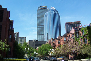 Prudential Center from West Newton Street