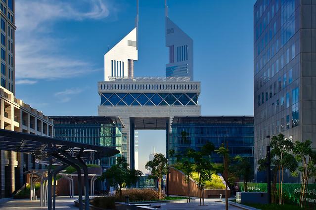 Financial district, Dubai