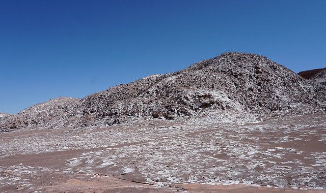 The Valley of the Moon (Valle de la Luna), San Pedro de Atacama, the Atacama Desert, Chile.