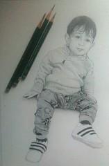 Portrait of baby / retrato de bebé