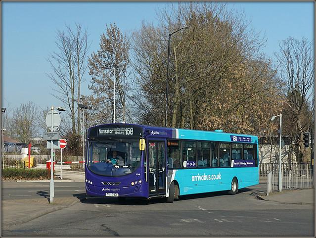 Arriva Midlands 3799