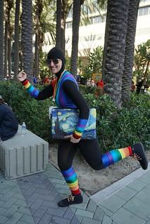 Rainbow Raider steals Starry Night!