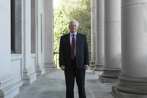 Mike Kreidler, 2017, Washington state Capitol, courtesy Easton Richmond | by WA OIC