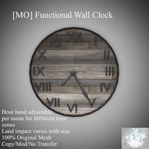 [MO] Functional Wall Clock