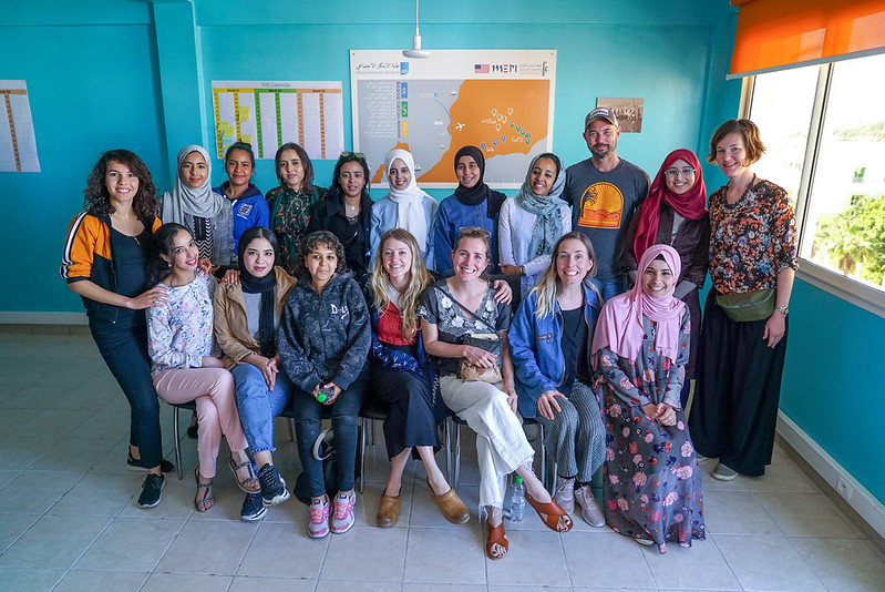 20190409_T Sisters_Lunch with young female entrepreneurs_Agadir