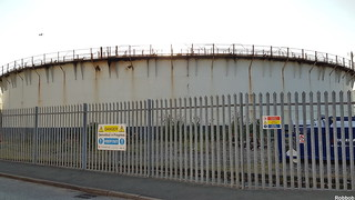 Gas holder to be dismantled on Navigation Road. | by Robbob2010
