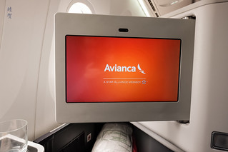 Avianca welcome screen | by A. Wee