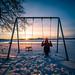Cold sunset - Helsinki, Finland - Travel photography by Giuseppe Milo (www.pixael.com)