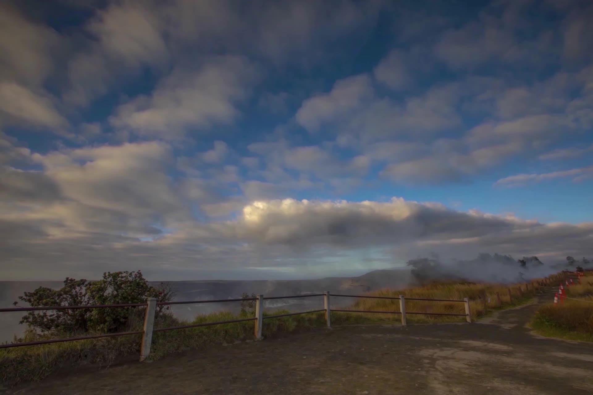 Timelapse of Wahinekapu (Steaming Bluff)