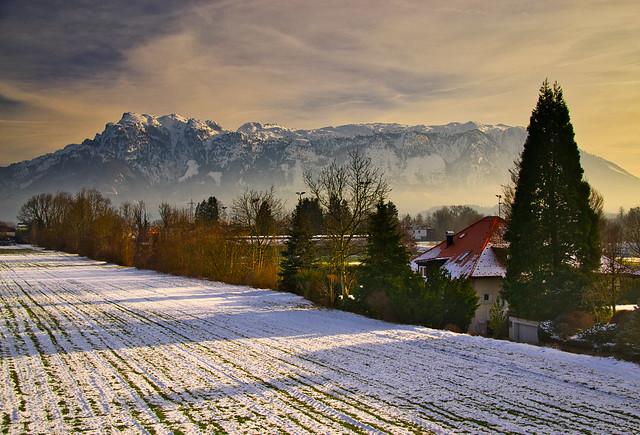 In Wals-Grünau, Austria