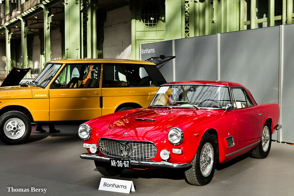 Maserati 3500 GTI 1963   Châssis n°AM.101/2640 Estimation ...