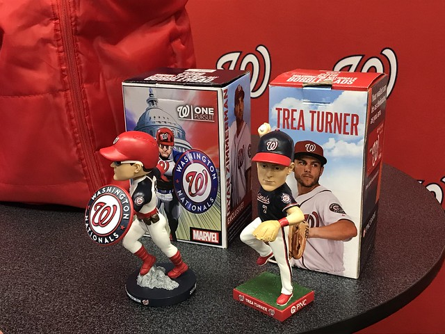 Nationals 2019 Bobbleheads