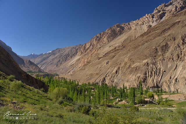 Village de Yazrich, vallée de Chapursan