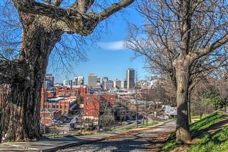 City Skyline-Libby Hill Park-Richmond VA 7859