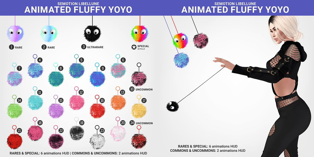 SEmotion x Libellune Animated Bento Fluffy YoYo @ ACCESS