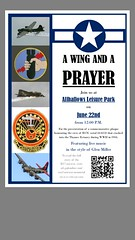B-17 Memorial flyer Allhallows, Kent.