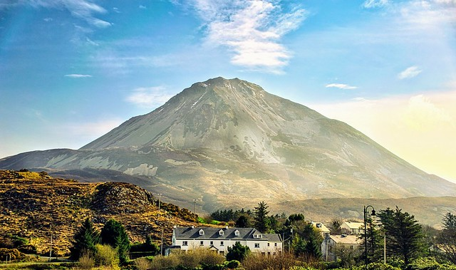 Mount Errigal Donegal Ireland