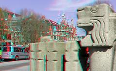 Leidse straat Amsterdam 3D