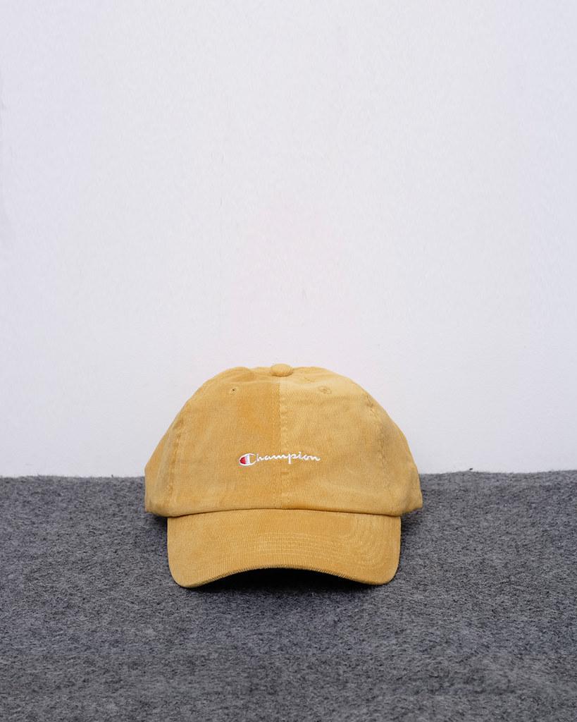 56f563061a ... 61533 - 125K - Champion Classic Twill Strapback Dad Hat - Yellow