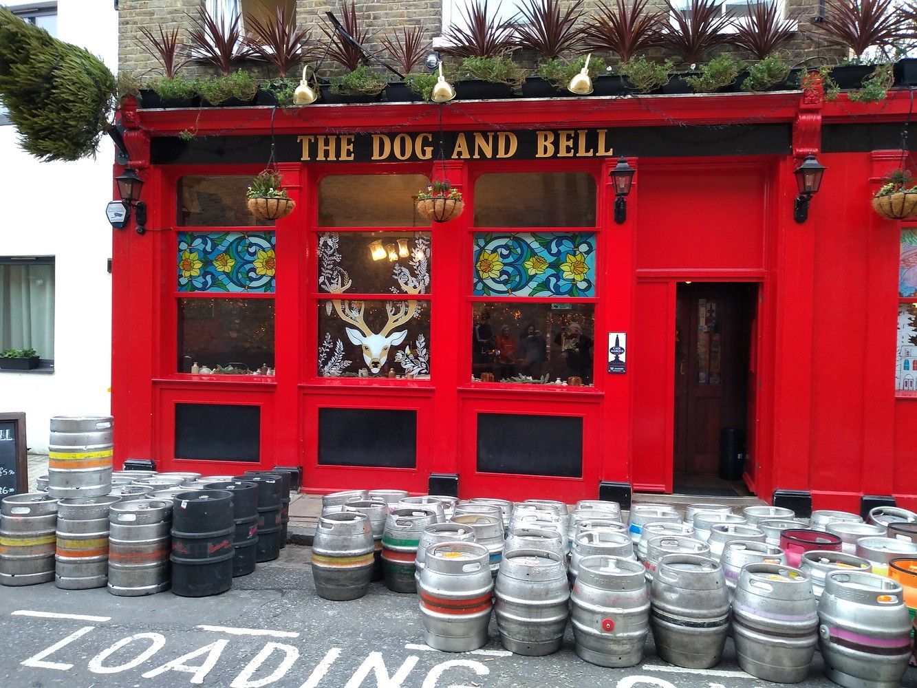 The Dog and Bell Looks like they had a busy Christmas