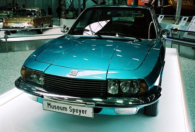 Electric blue NSU Ro80