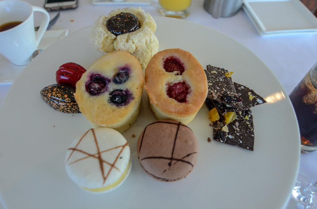 California Grill Brunch desserts