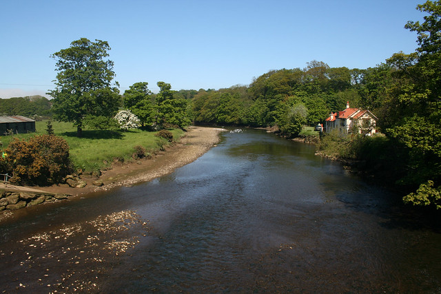The River Esk at Ruswarp, North Yorkshire